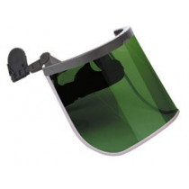 Protectores Faciales Acoplables a Casco Superface Combi Verde